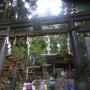 清滝川から月輪寺を経て愛宕山(京都)頂上愛宕神社から表参道へのルート
