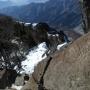 大平牧場から乾徳山と黒金山