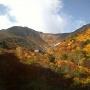 奥岳登山口から安達太良山・鉄山を経て、くろがね小屋・勢至平・あだたら渓谷 経由 奥岳登山口