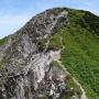 大山ユートピアルート:行きは正規ルート、帰りは剣谷経由