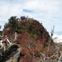 石鎚山東陵廻り 冬期よさこい峠からのルート