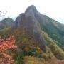 藤倉登山口  東岳 西岳西峰 ローソク岩分岐 藤倉登山口