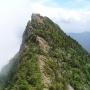 御来光の滝から中沢で石鎚山に