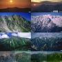 新穂高温泉から双六岳、三俣蓮華岳、鷲場岳、水晶岳、雲ノ平(2日間)。最終日は雲ノ平から新穂高まで。