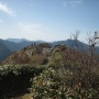 寒風山登山口を起点に寒風・笹ヶ峰・ちち山を周回して林道でもとに帰るルート